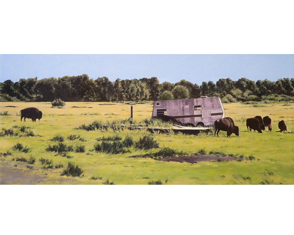 Home on the Range painting